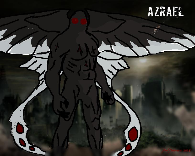 AZRAEL fanart by Kyotita