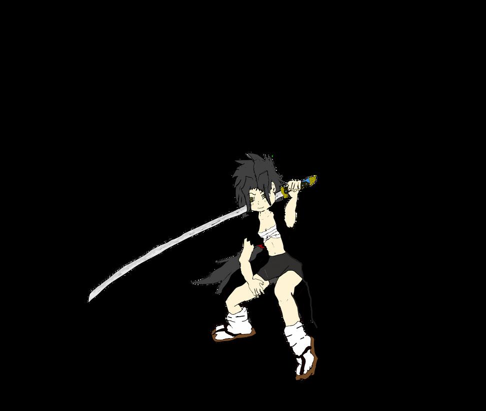 Aki redrawn for title! by Kyotita