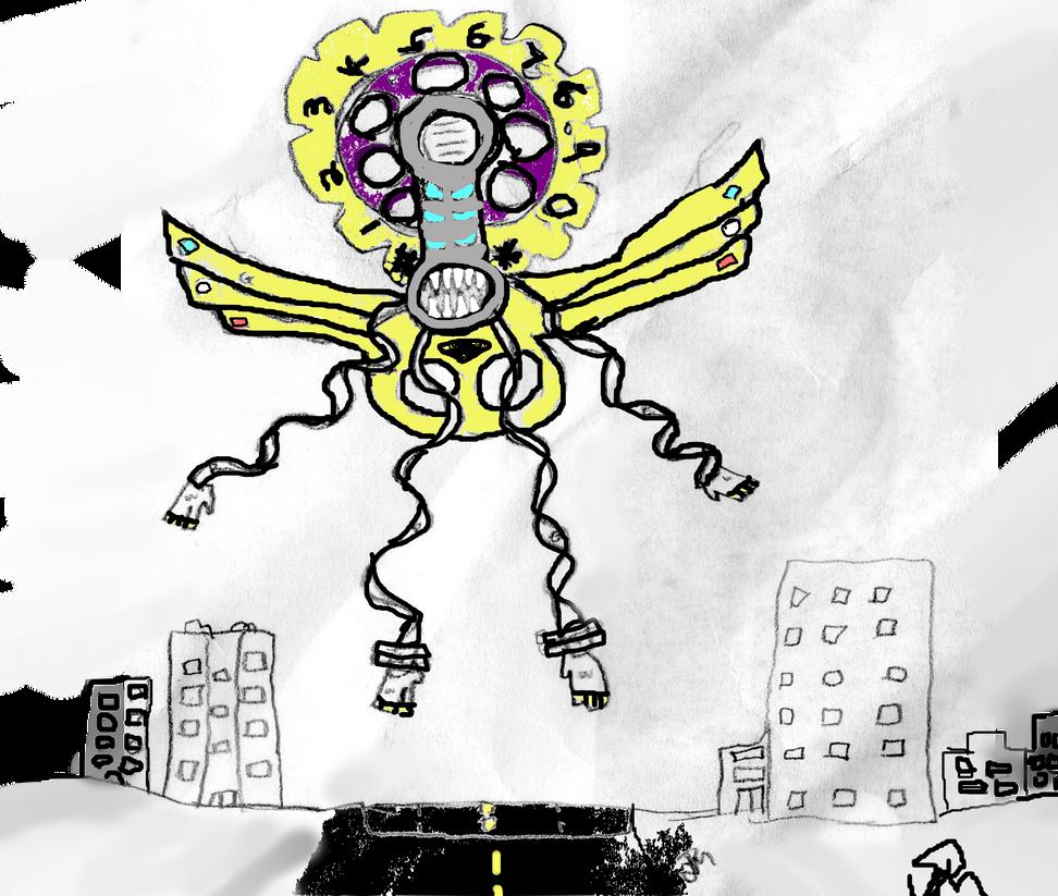 Flexible God of Phones by Kyotita