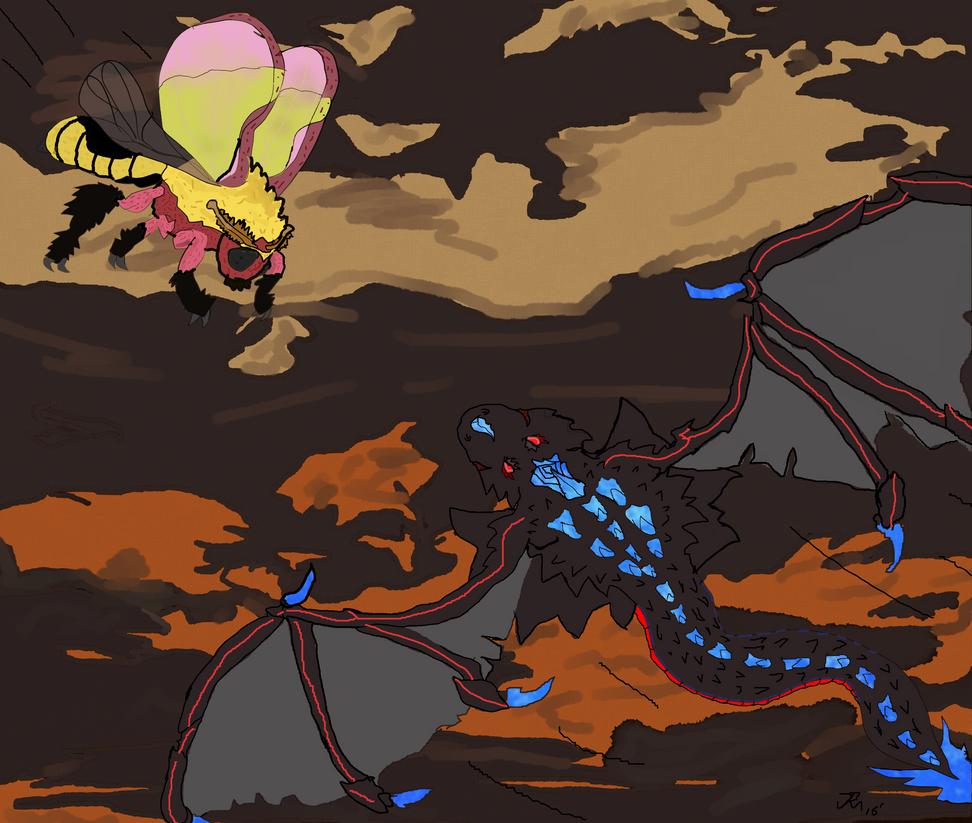 Fierce Battle In The Sky! 2016 by Kyotita