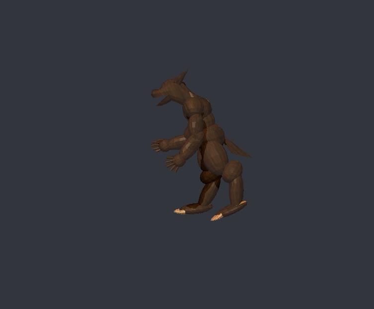 Werewolf 3d by Kyotita