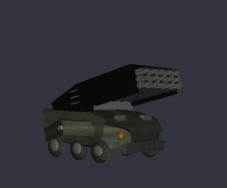 Japanese Missle launcher by Kyotita