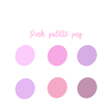 Pink palette png