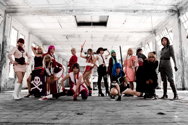 King of Fighters: The Queens by rinsuzume