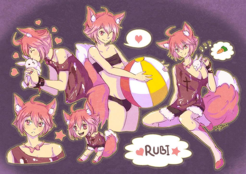 Rubi Sketchpage by mi-ya-ka
