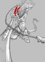 Ink Eyes, Servant of Oni by PseudoSharp