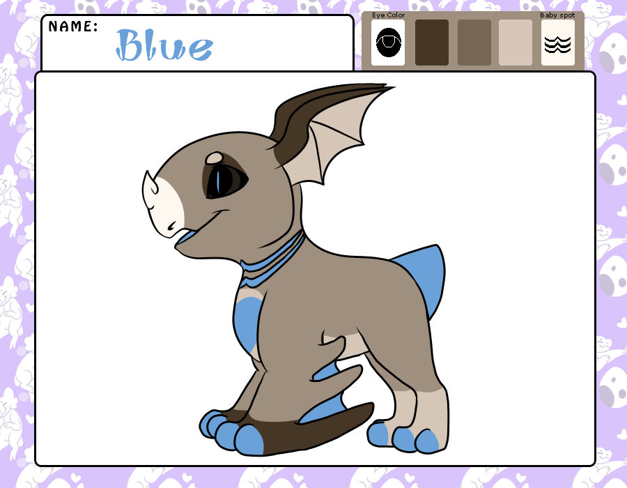 Blue the wyngling