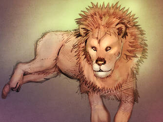Leo the Lion by urbantrixsta