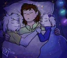 Dreemurr Cuddling
