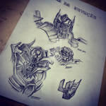 transformers age of the extinction sketch