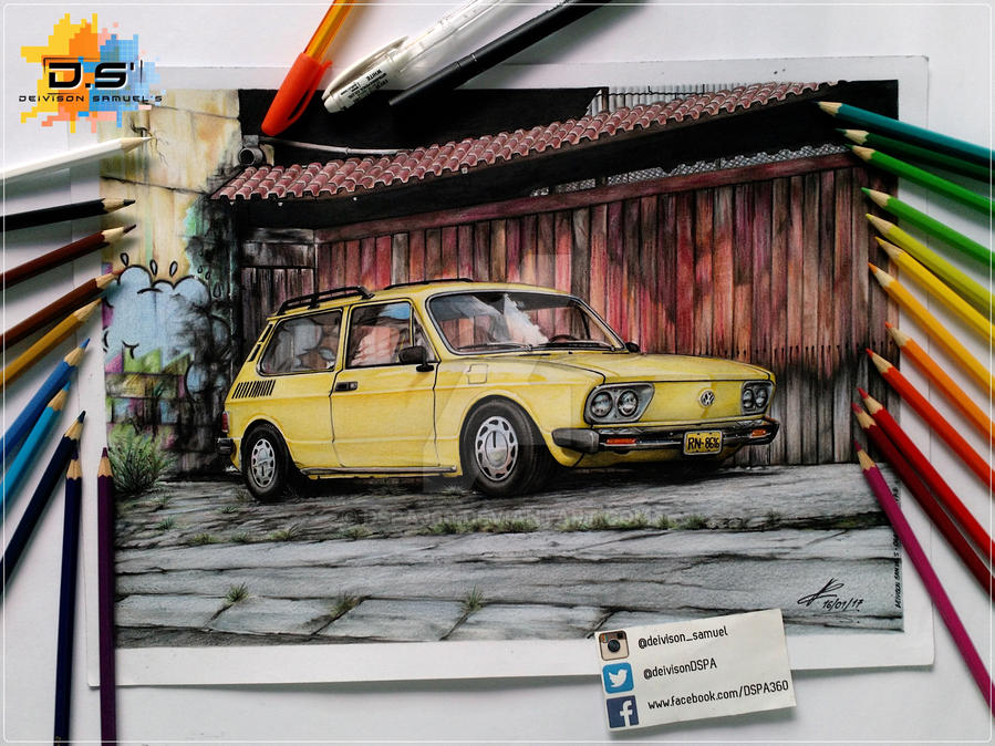 Volkswagen Brasilia 1979 by DSPA360