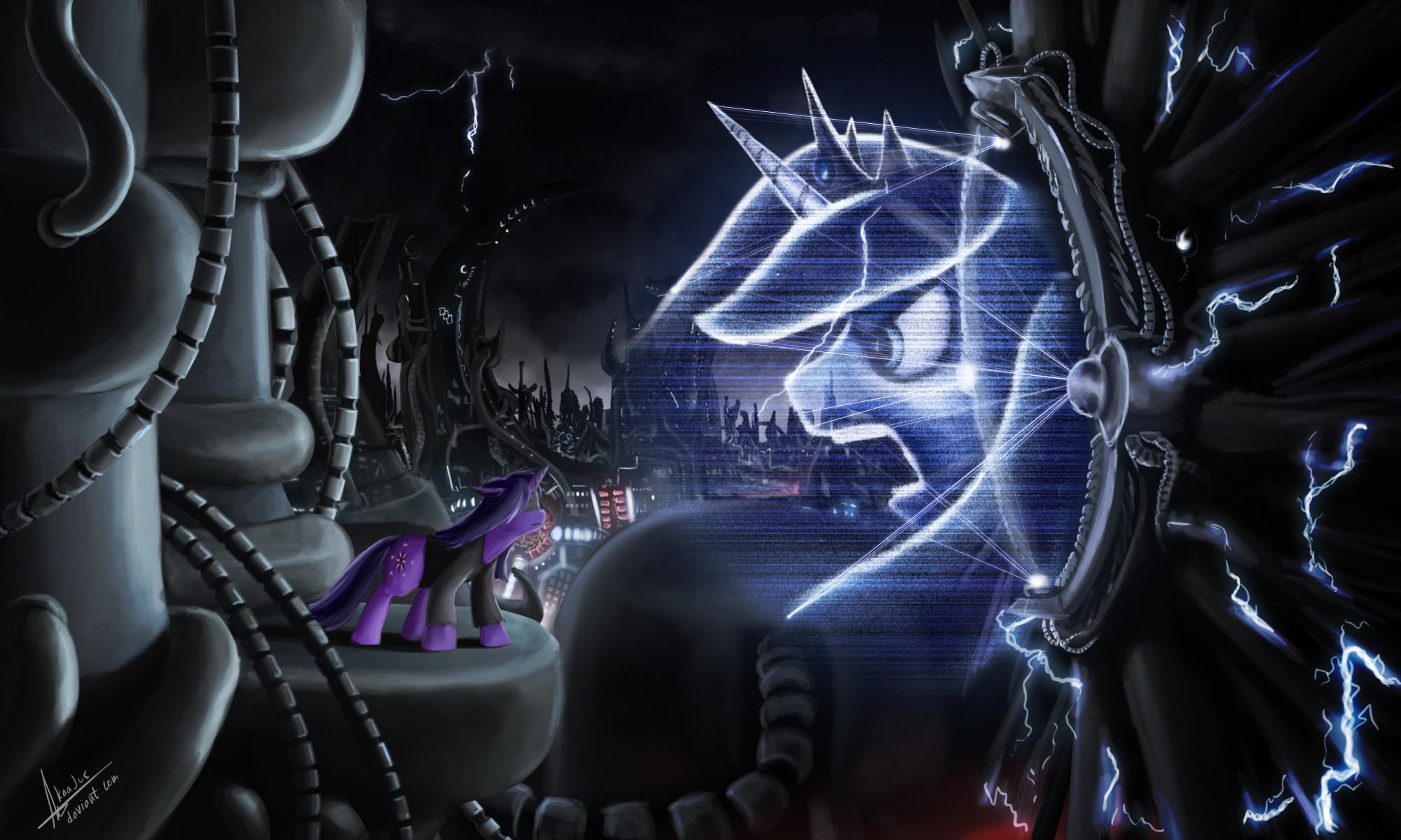 Deus ex pony by RubleGun