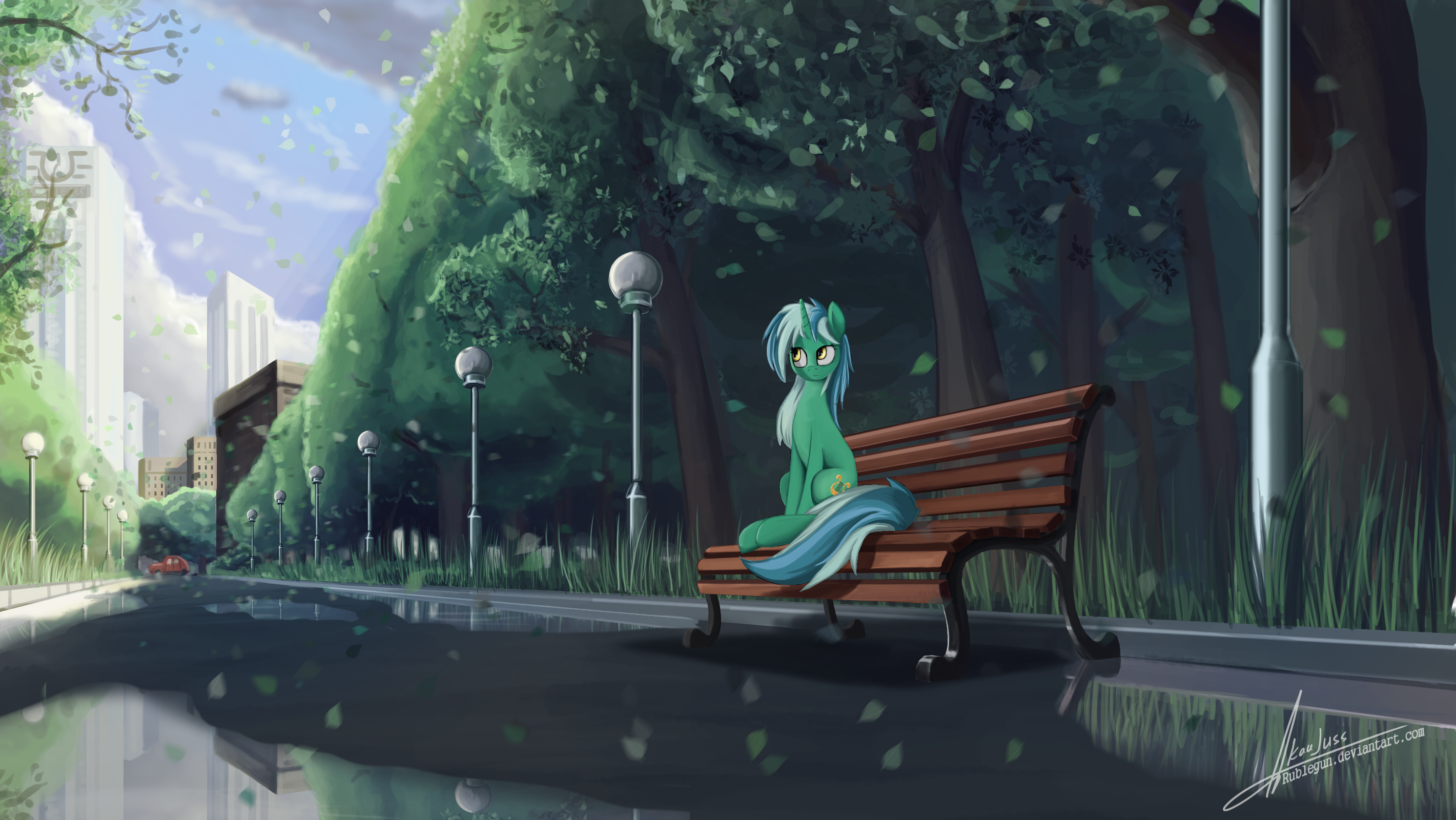 bench by RubleGun
