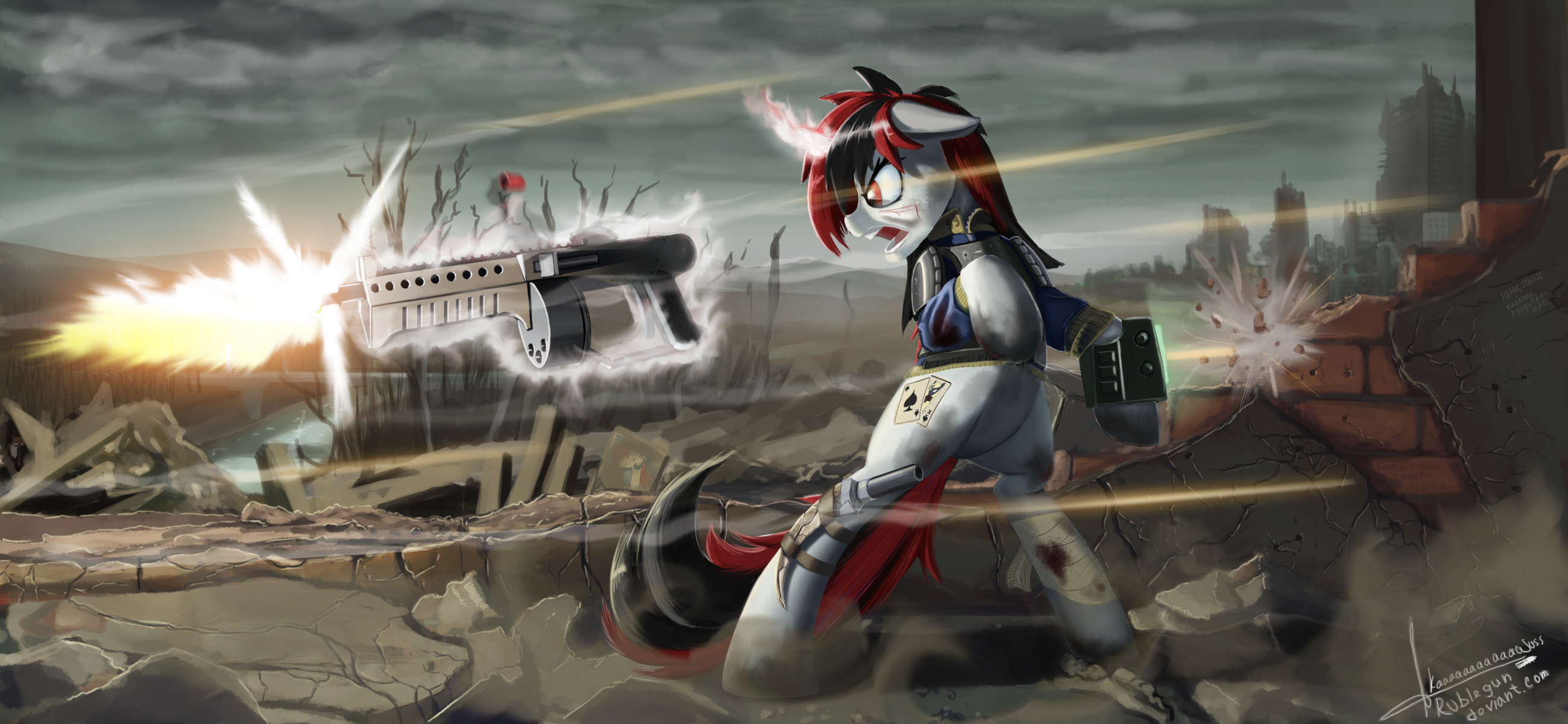 Run, shoot, kill... and cry... by RubleGun