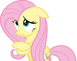 Fluttershy - I'm No Good With Animals by masemj