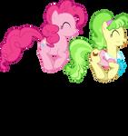 Pinkie Peachbottom Pronking