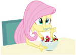 Fluttershy Can't Enjoy Her Salad