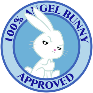 Angel Bunny Seal Of Approval
