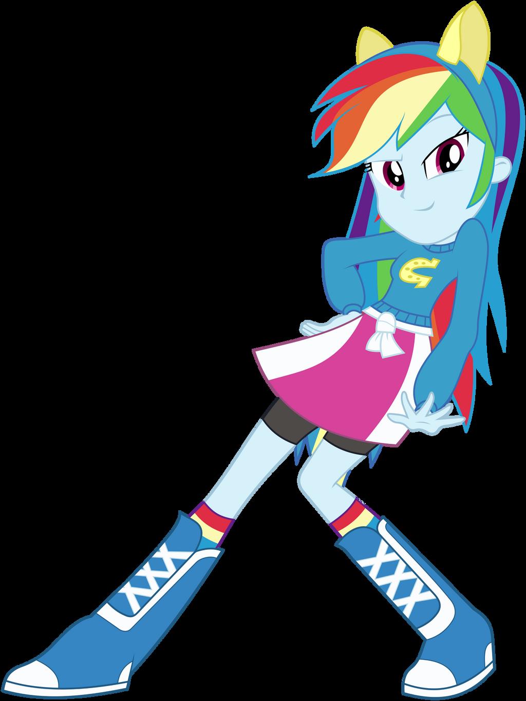 Rainbow Dash Human Equestria Girls Dress