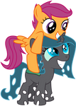 Request: Shift And Scootaloo
