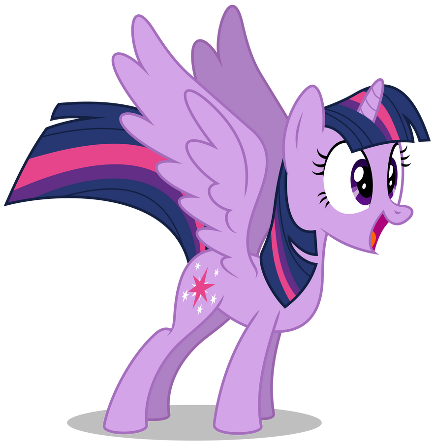 Overly Excited Twilight by masemj