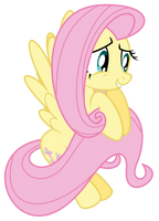 Nervous Fluttershy by masemj