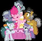 Pie Family Portrait