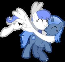 Request Commission - Flying Hug by masemj