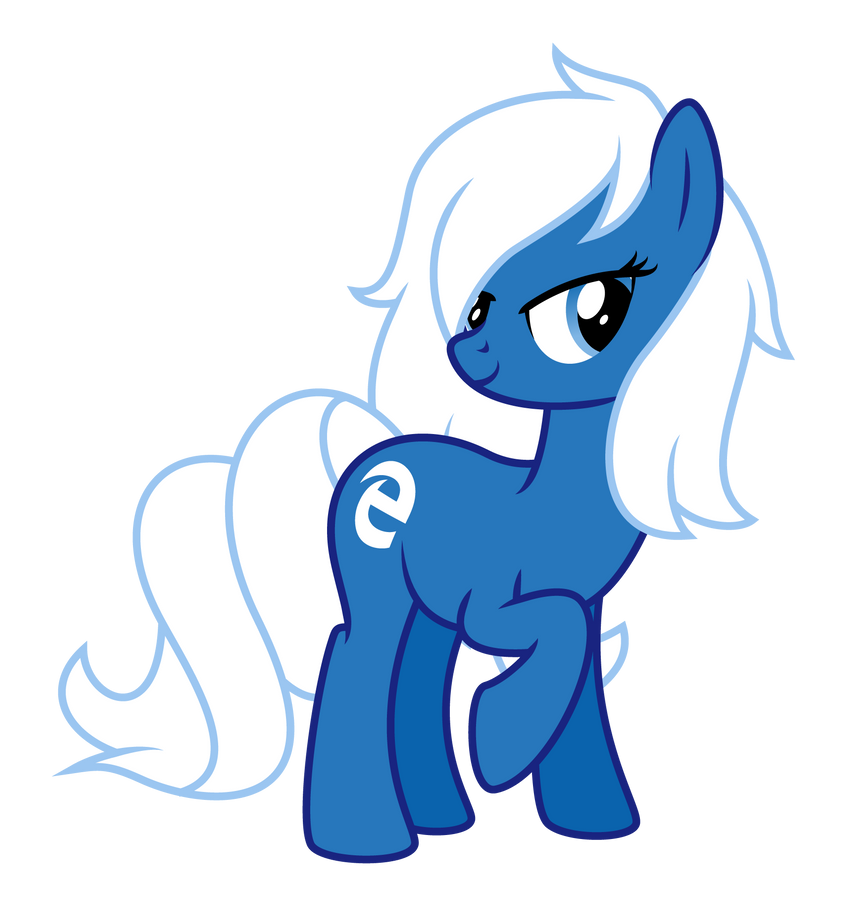 Request/Commission: Edge Pony OC by masemj