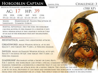 Hobgoblin Captain by Almega-3