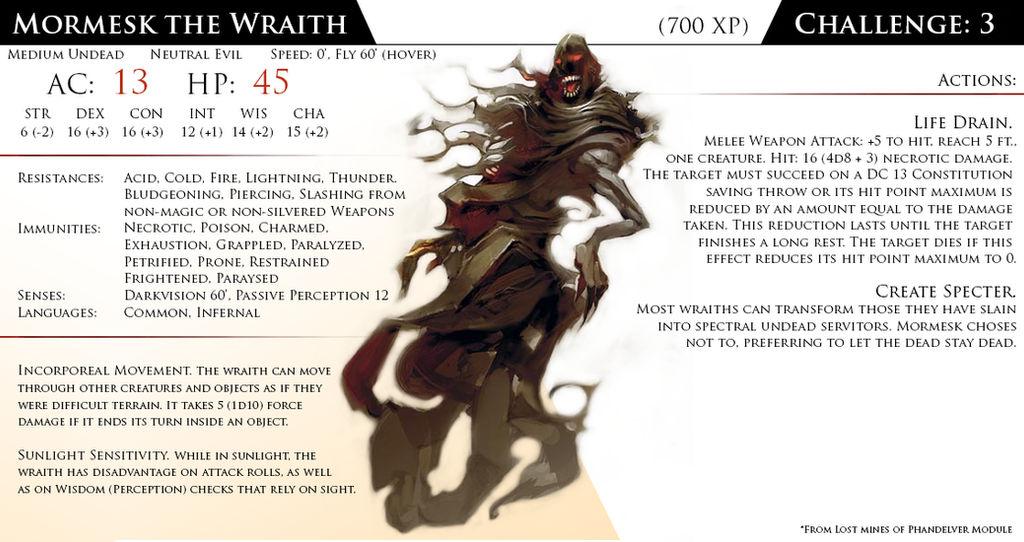 Mormesk the Wraith by Almega-3 on DeviantArt