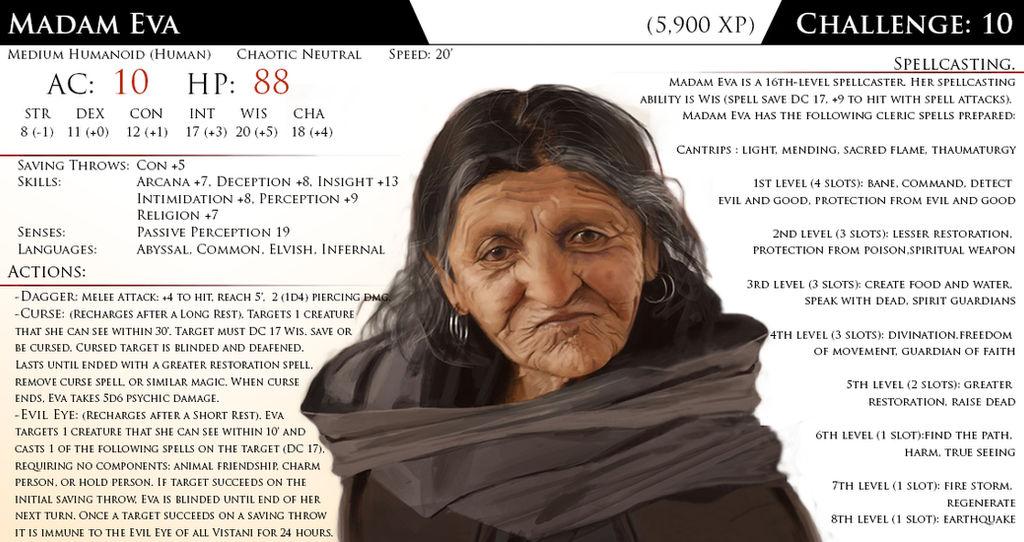 Madam Eva by Almega-3 on DeviantArt
