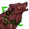 Furcadia Port Sale - Wolf Howl by ForbiddenPixels