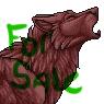 Furcadia Port Sale - Wolf Howl by ForbiddenPixels