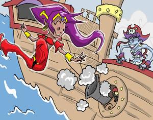Shantae and Risky