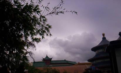 The Japan pavilion at Epcot's World