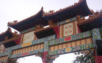 The Japan pavilion at Epcot's World II