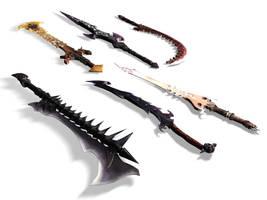 Swords by Drizz-Man