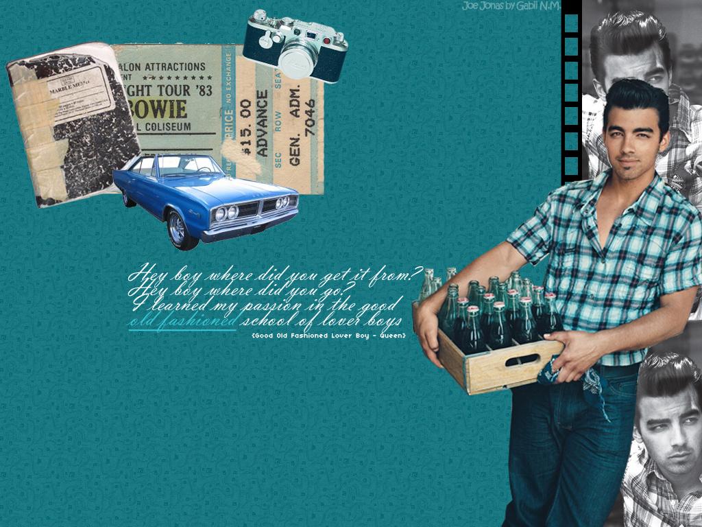 GOFLB - Joe Jonas Wallpaper by gahhstar