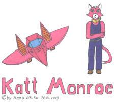 Katt Monroe and her glider