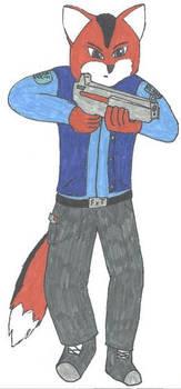 Konu with weapon