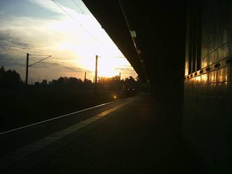 Sunrise Station Weissenfels