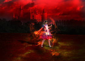 Fire Alice by melquidez