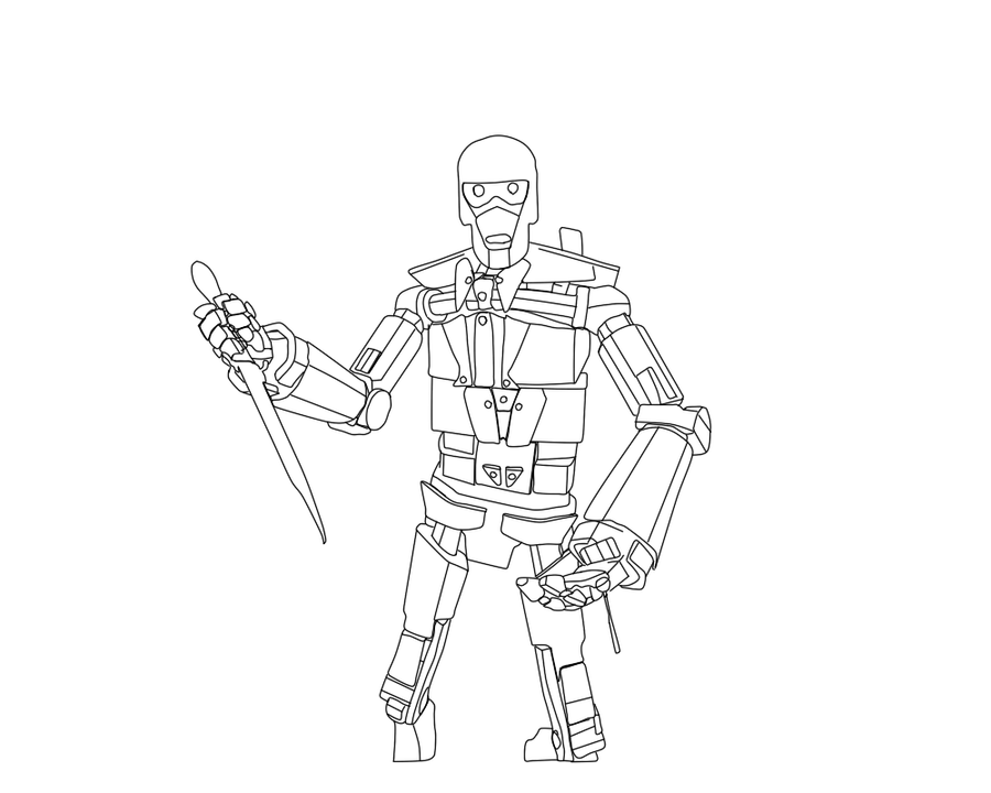 spy gear coloring pages | Robo spy team fortress 2 line art by SorioZorio on DeviantArt