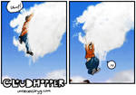 Cloudhopper art show F