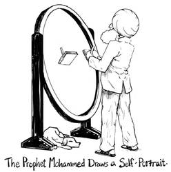 Mohammed-and-self-portrait