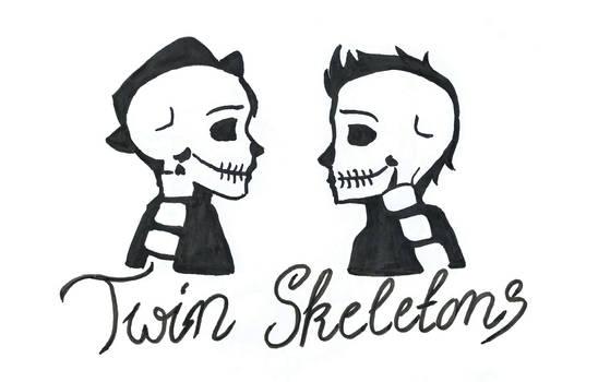 Twin Skeletons