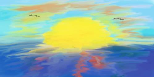 Unintentional sunrise