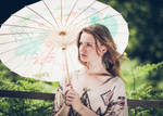 Anna w/Umbrella by l33tc4k3