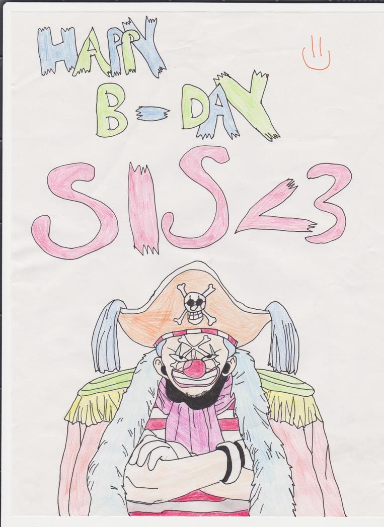 Happy Birthday Sis by AnimeFanForEverN1